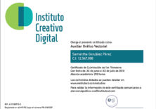 ICD Instituto Creativo Digital Certificado Tiro Web icd
